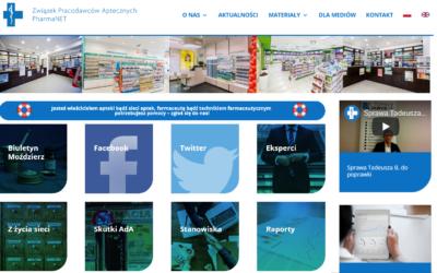Nowe kanały komunikacji ZPA PharmaNET: Facebook Twitter & WWW