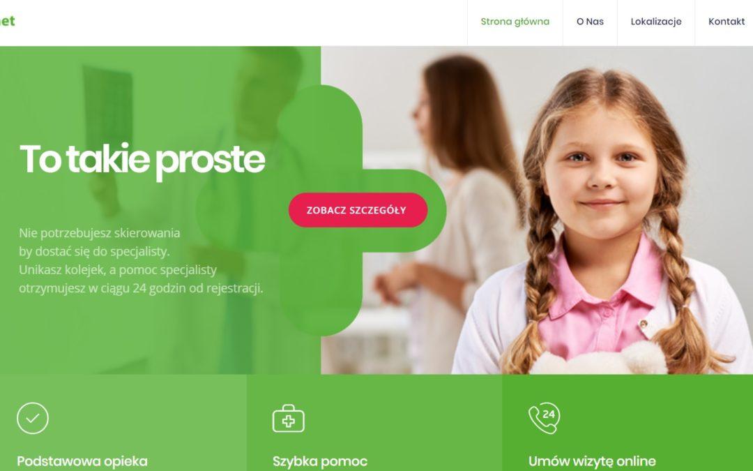 Pierwszy gabinet lekarski Dr.Max otwarty w Krakowie
