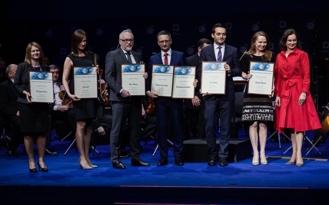 Dr. Max i Apteki Gemini wśród najcenniejszych marek w polskiej ochronie zdrowia