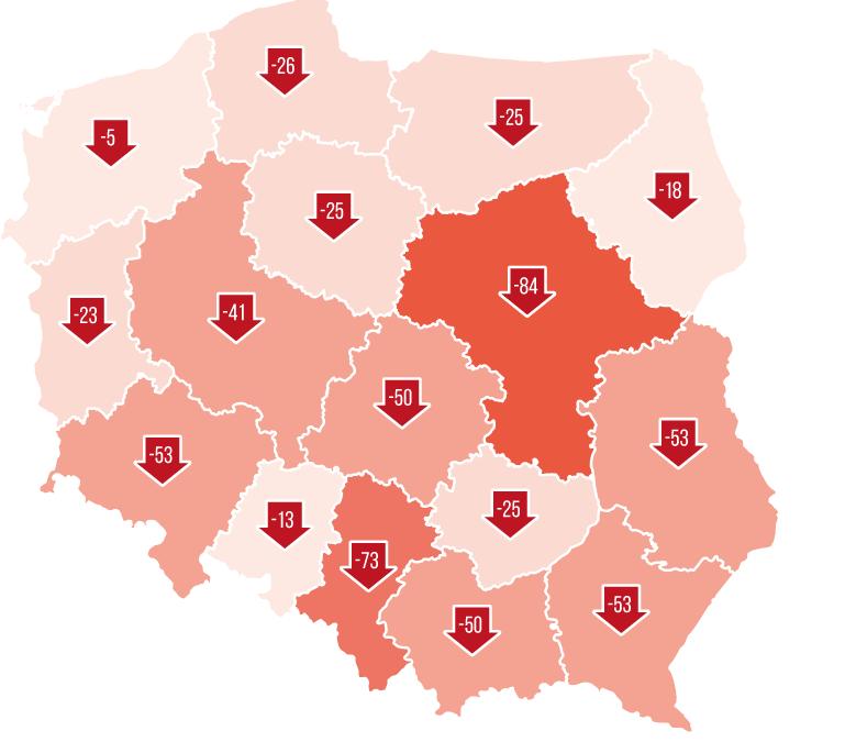 Liczba aptek spada, w 83 miejscowościach zamknięto jedyną aptekę