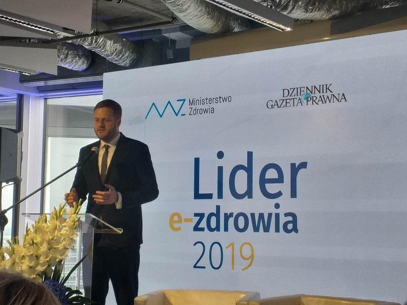 """Janusz Cieszyński o e-zdrowiu na konferencji """"E-zdrowie w Polsce – czas liderów, wyzwań i szans"""""""