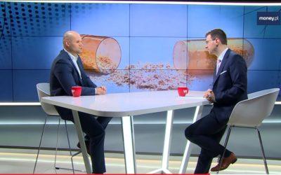 Money.pl: Arkadiusz Grądkowski ekspert Konfederacji Lewiatan o zanieczyszczonych lekach