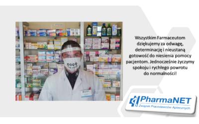 14 maja – Międzynarodowy Dzień Farmaceuty!